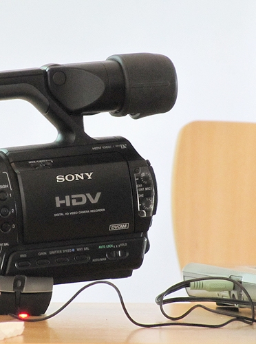 A photograph taken during a previous video course by ATiT