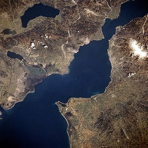 Patras from the sky