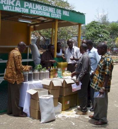 Trade Fair in Freetown, Sierra Leone