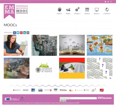 EMMA, a Multilingual MOOC Platform