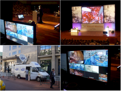 An impression from the Anadolu Theatre at the ESHRE2012 Conference