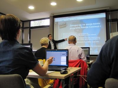 participants taking part in MEDEA2020 workshop