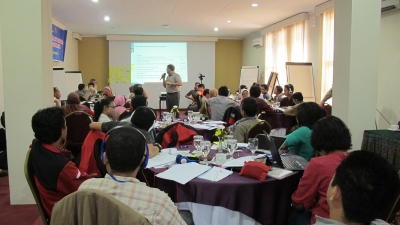 Knowledge Exchange Workshop at the Indonesian BNPB, UGM