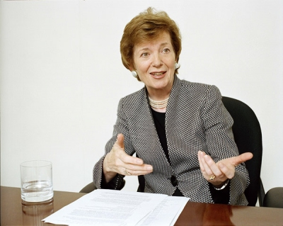 Mary Robinson, Former President of Ireland (1990 - 1997) and United Nations High Commissioner for Human Rights (1997 - 2002)