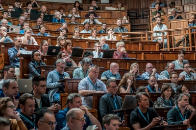 Scenes from last year's conference