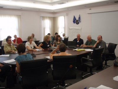 Meeting of EPNoSL members taking place in Crete