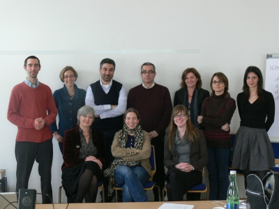 Project partners taking part in the RURALeNTER partner meeting