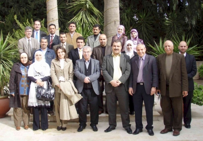 Participants who took part in the second session of the Evaluation Workshops
