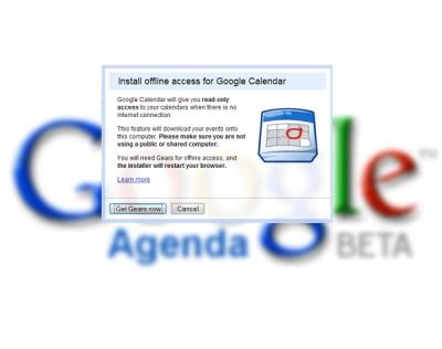 Google Calendar also offline