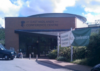 East Midlands conference centre where ALT-C took place, photo courtesy of Steven Verjans