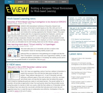 E-ViEW project page