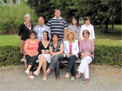 July course participants