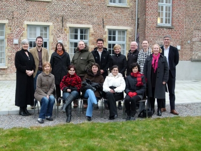 course participants in Leuven