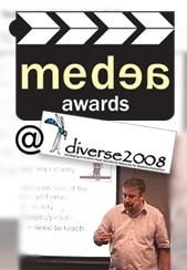 MEDEA logo and DIVERSE logo