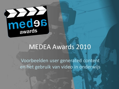 Screenshot of Presentation MEDEA Showcases for WEBstroom meeting