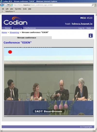 Paul Kim (Stanford University), Clare Dillon (Microsoft Ireland), Graham Attwell (Pontydysgu) and Sally Reynolds (ATiT)