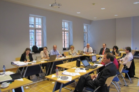 advisers meeti partners in Leuven for the E-ViEW project