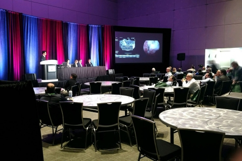ACOG Audience following LEC live surgeries