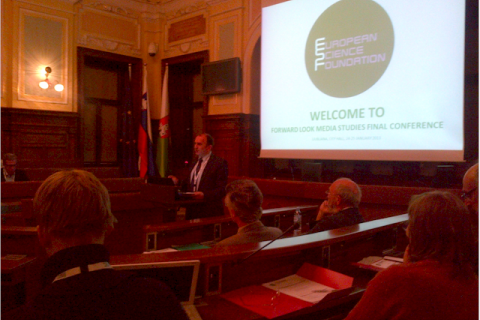 New Media and New Literacies Conference at Ljubljana City Hall.