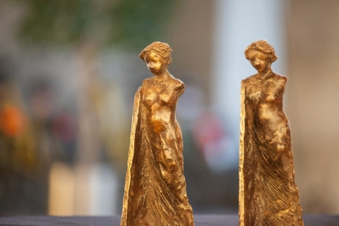 MEDEA Awards statuettes