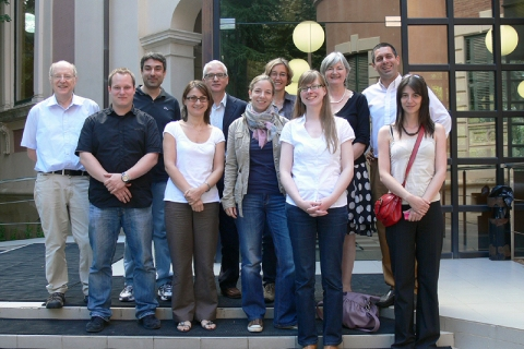 RURALeNTER partners before the beatiful premises of the University of Barcelona in Spain.