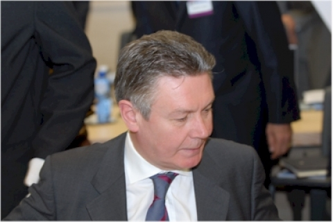 Belgian Minister of Foreign Affairs K. De Gucht