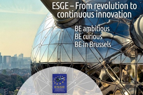 25th annual ESGE Congress held in Brussels 2-5 October