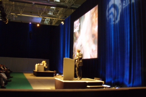 ESHRE 2010 at the Fiera di Roma