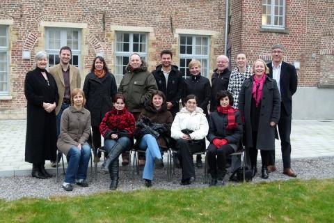 course participants in Leuven