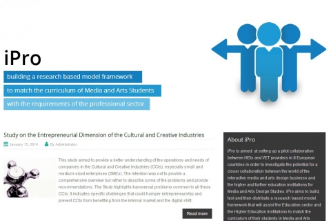 iPro website screenshot