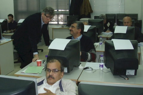 Workshop in Jordan