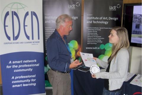 Philip Penny presenting MEDEA at EDEN
