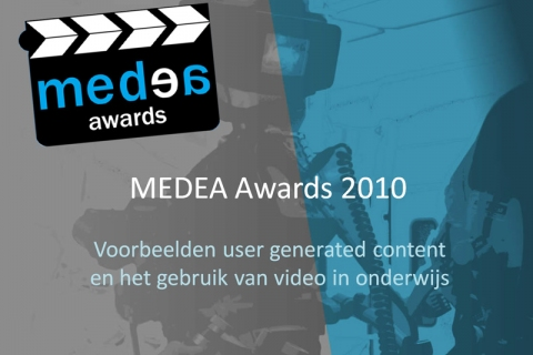 Screenshot of Presentation MEDEA Showcases for WEBstroom meeting