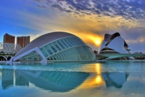 The magnificant City of Arts and Sciences in Valencia, photo courtesy EDEN